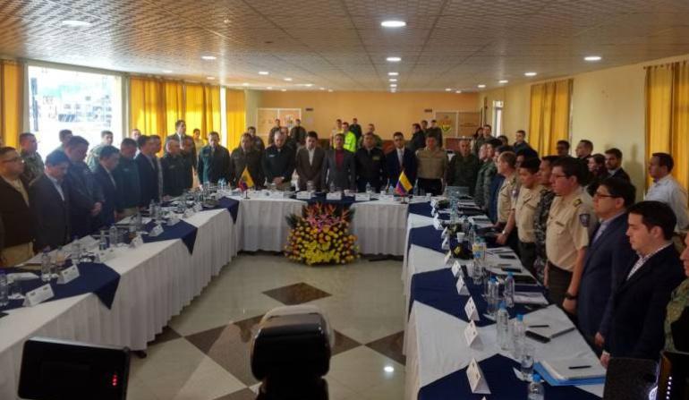 Colombia Ecuador seguridad frontera: Colombia y Ecuador redoblarán seguridad en zonas prioritarias de frontera