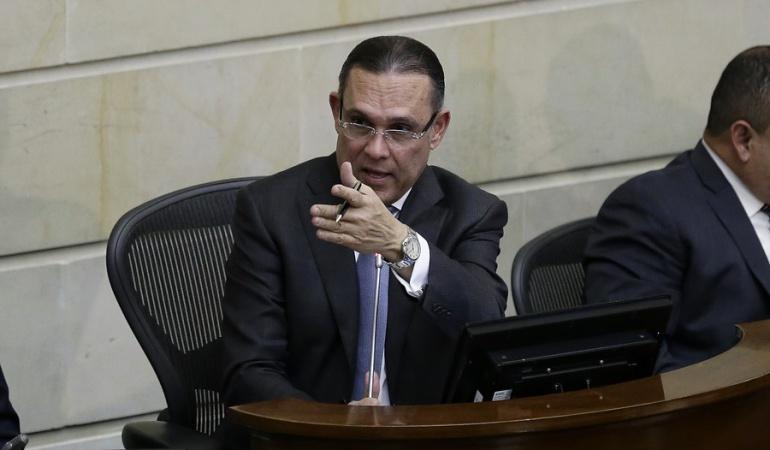 Efraín Cepeda, presidente del Congreso