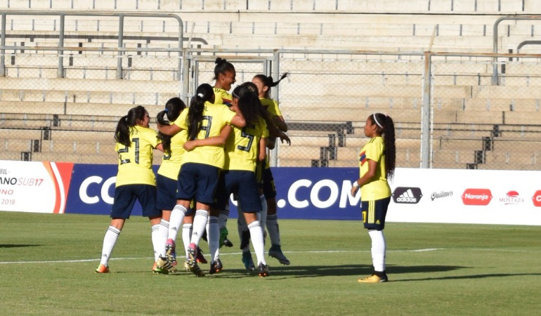 Selección Colombia Sub-17 Mundial: La Selección Colombia Femenina se clasificó al Mundial Sub-17