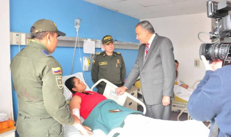 Intento de robo: Patrullera herida es ejemplo de integridad para la Policía: Vicepresidente