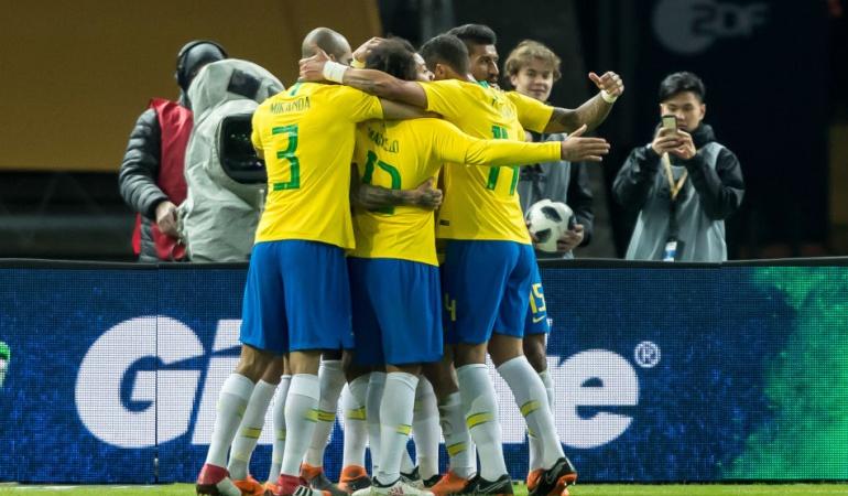Brasil Alemania amistoso: Brasil vence 1-0 a Alemania después del 7-1 en el Mundial 2014