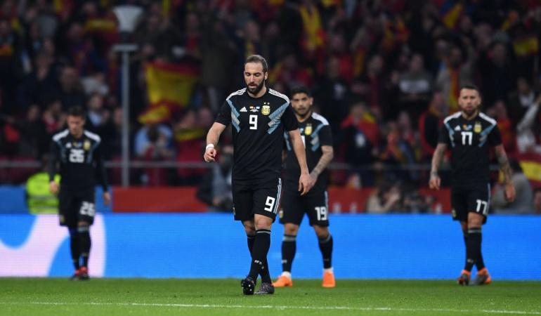 España 6-1 Argentina: Catástrofe histórica de Argentina en Madrid: 6-1 ante España