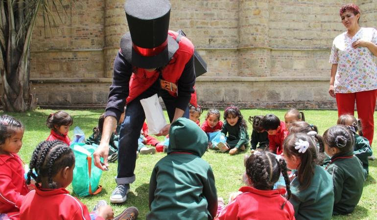 Becas Para Niños: Becas a proyectos de inclusión de la primera infancia en entidades museales