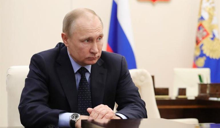 Vladimir Putín, primer mandatario de Rusia