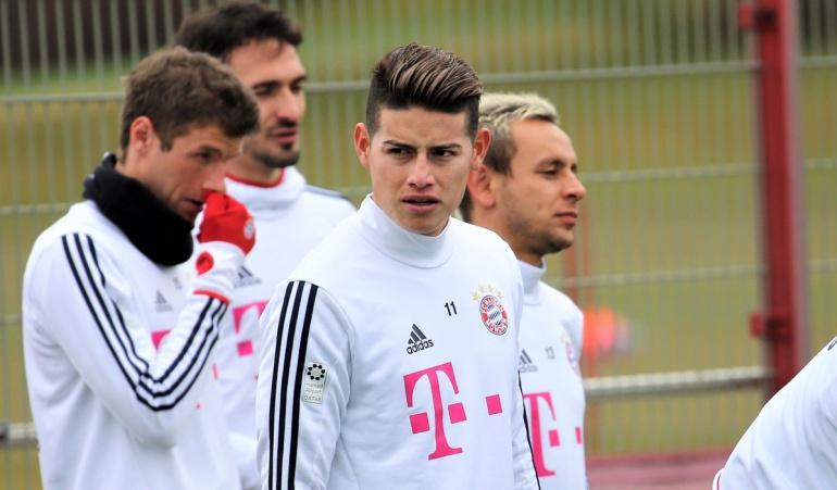 James Rodríguez Bayern Múnich: Así entrena James Rodríguez con el Bayern Múnich