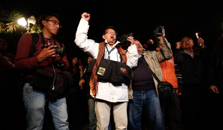 Gremios de medios piden evitar acciones militares en rescate de periodistas