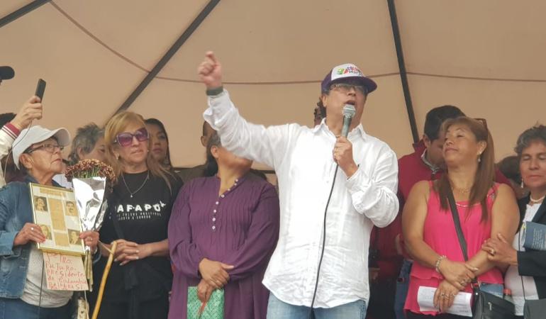Gustavo Petro, candidato presidencial del progresismo