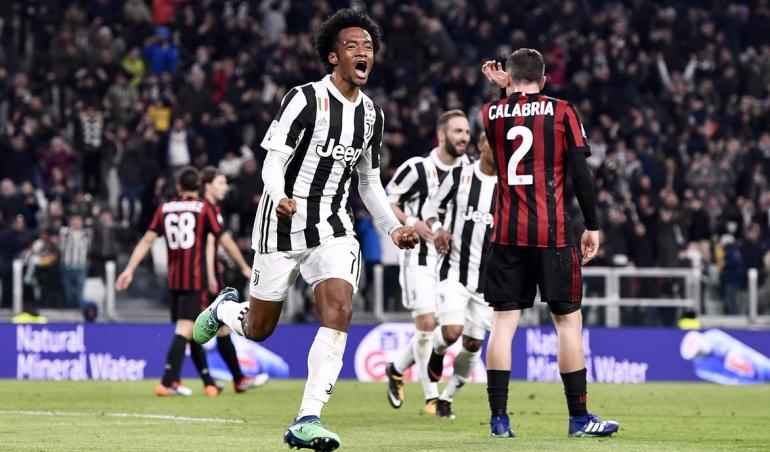 Cuadrado Juventus Milan: Cuadrado y un regreso soñado: anotó en el triunfo de la Juve 3-1 ante Milan