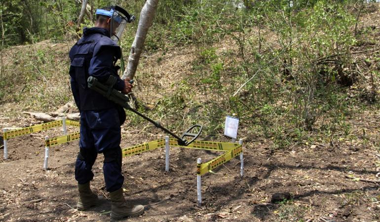 Desminado en Colombia: El 4 de abril Santos declarará 37 municipios libres de minas antipersona