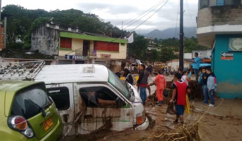 Tragedia de mocoa un año después: Hace un año Mocoa sufrió una de las peores tragedias: Santos