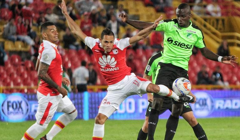 Deportivo Cali vs Independiente de Santa Fe, fútbol colombiano — Partido en vivo