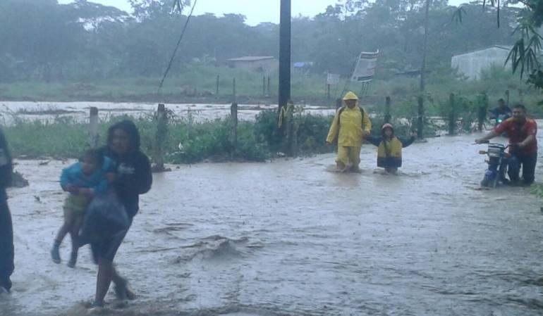 Al menos 12 departamentos de Colombia en alerta por lluvias