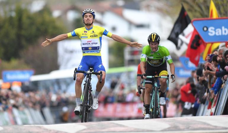 Vuelta al País Vasco: Alaphilippe repite en la Vuelta al País Vasco y se lleva la segunda etapa
