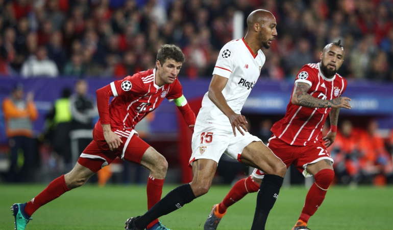 sevilla bayern: Con James, Bayern sacó la ventaja sobre Sevilla
