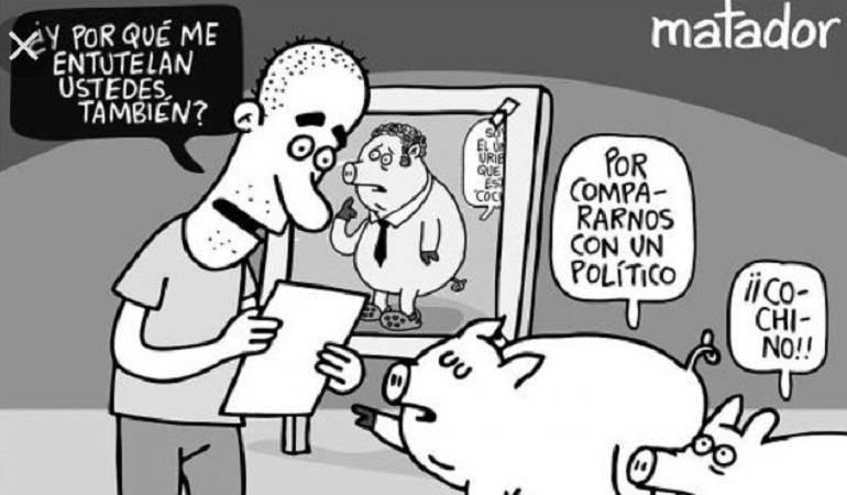 Matador caricaturas: Demuestran en redes sociales apoyo al caricaturista 'Matador'