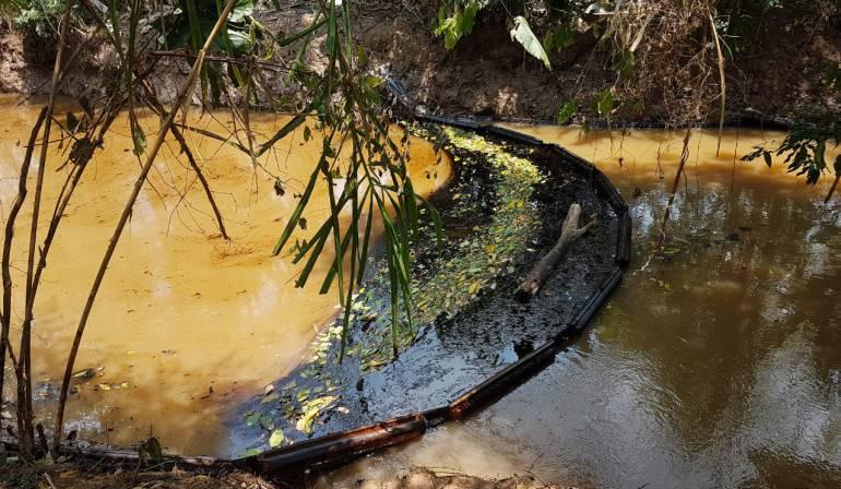 Derrame Ecopetrol: Ecopetrol debe indemnizar por daños de derrame de petróleo: Procuraduría