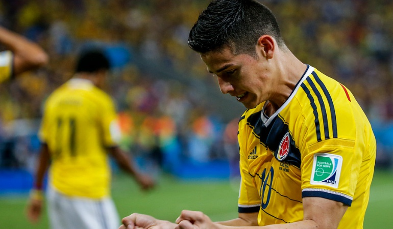 Golazo James cuartos de final Mundial goles: Golazo de James a Uruguay avanza cuartos del 'Mundial de goles' FIFA