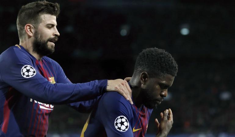 Barcelona Roma Liga de Campeones: A un paso de la semifinal: Barcelona se divierte con la Roma