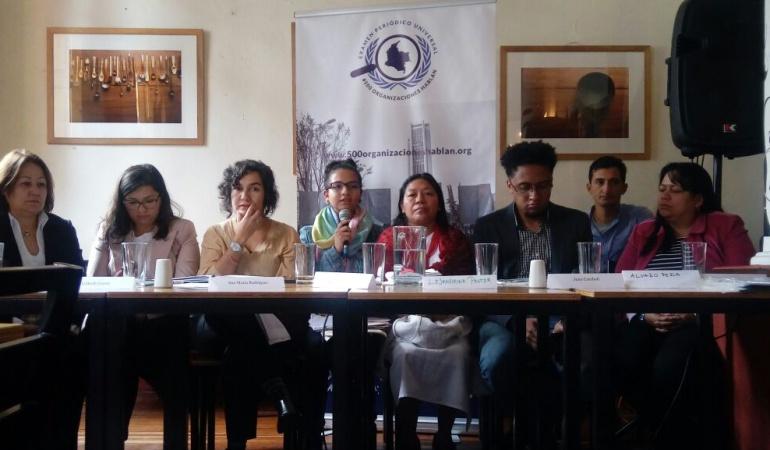 Colombia no pasó la prueba en Derechos Humanos: Colombia se 'raja' en derechos humanos: organizaciones sociales