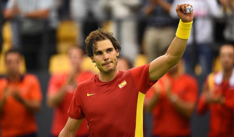 Rafael Nadal Copa David: Con Nadal a la cabeza, España se medirá ante Alemania en la Copa Davis
