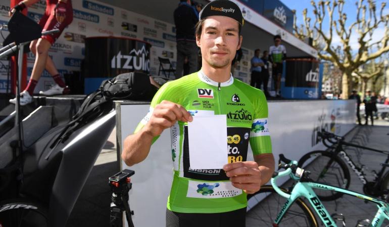Roglic líder Vuelta País Vasco Nairo Quintana: Roglic gana la CRI del País Vasco y es nuevo líder; Nairo volvió al Top 10