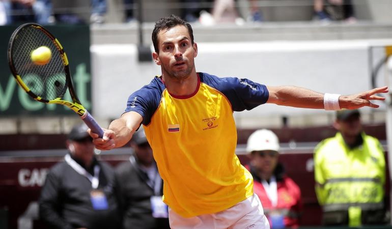 Copa Davis Brasil Colombia Santiago Giraldo: Santiago Girarlo abrirá este viernes la serie de Copa Davis ante Brasil