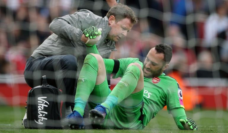 David Ospina: David Ospina sufre lesión de tobillo y estará varias semanas por fuera