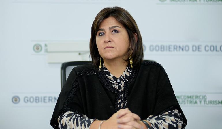 María Lorena Gutiérrez ministra de Comercio, Industria y Turismo