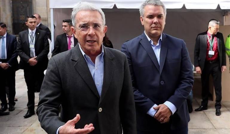 Consejo de Estado revisará pérdida de investidura de Uribe y Duque