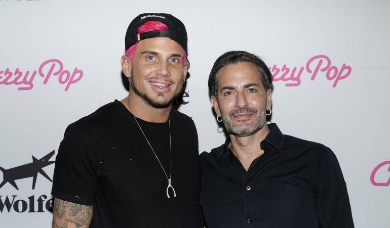Marc Jacobs y su novio Charly Defrancesco