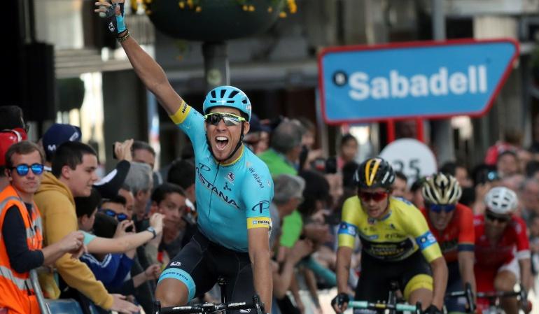 Omar Fraile País Vasco Nairo: Fraile ganó la quinta etapa del País Vasco; Nairo es octavo en la general