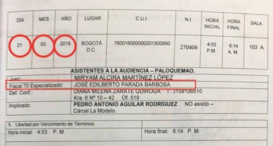Fueron enviados a la cárcel falso fiscal y abogada de Pedro Aguilar