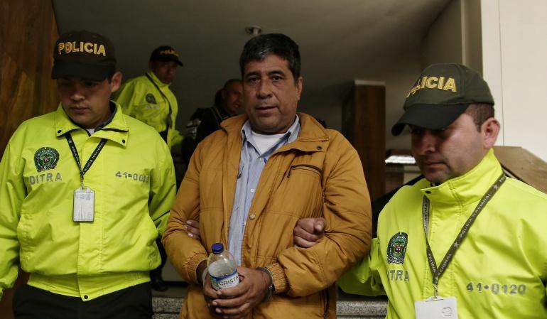 Juez legalizó la captura de Pedro Aguilar, sindicado por 'Cartel de Chatarrización'