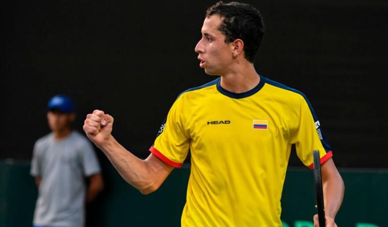 Copa Davis Colombia Brasil: Daniel Galán vence a Clezar e iguala la serie 1-1 con Brasil en Copa Davis