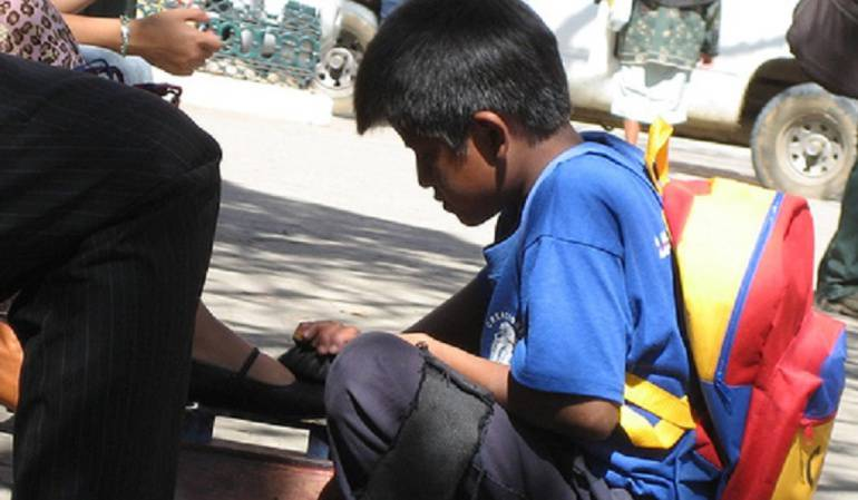 Desciende a 7.3% la tasa de trabajo infantil en Colombia