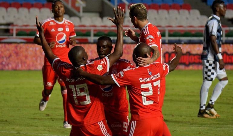 América Chicó Liga Águila: América goleó 3-0 a Chicó y volvió a ganar después de cuatro partidos