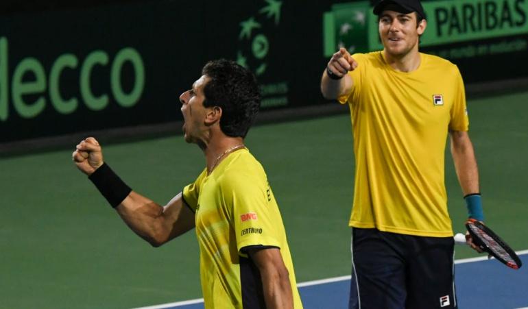 Copa Davis Colombia Brasil: Cabal y Farah pierden el tercer punto de la serie ante Brasil en Copa Davis