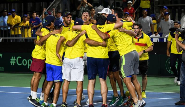 Colombia Brasil Copa Davis: Colombia elimina a Brasil en Copa Davis y jugará repechaje de Grupo Mundial