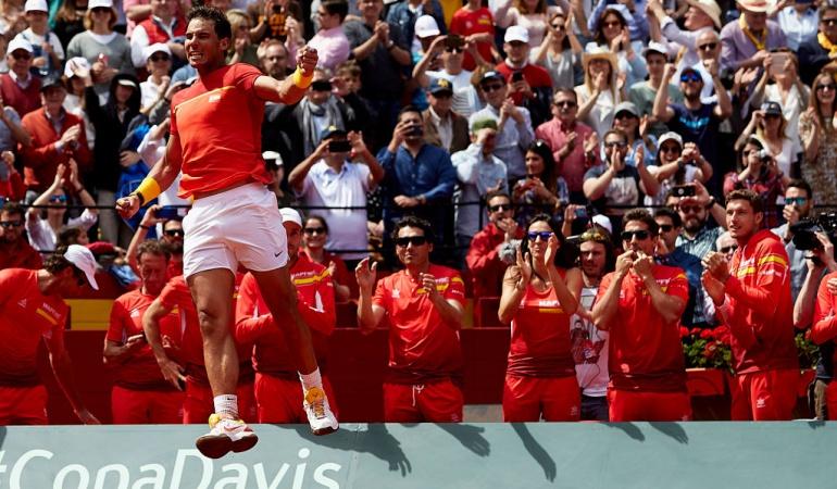 Semifinales Copa Davis: Definidas las semifinales de la Copa Davis