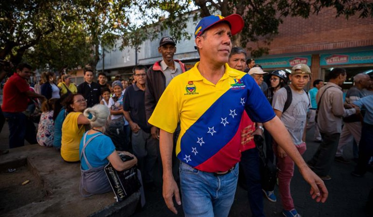 Candidato opositor Henri Falcón sobrepasa a Nicolás Maduro, según encuesta