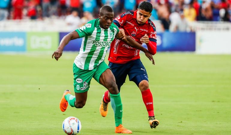 Nacional 2-0 Medellín Liga Águila: El clásico 297 se tiñó de verde: Nacional se impuso 2-0 al Medellín