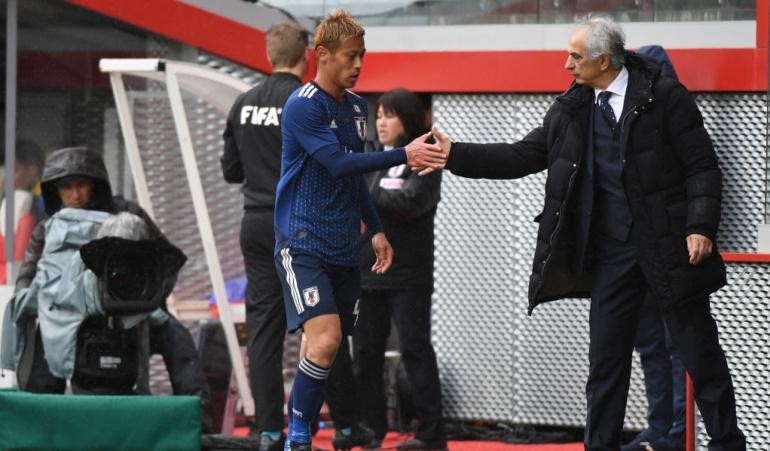 Japón echó a su DT a dos meses del Mundial