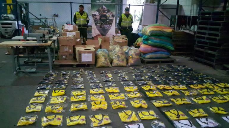 Contrabando: Duro golpe a contrabandistas de la camiseta de la selección Colombia