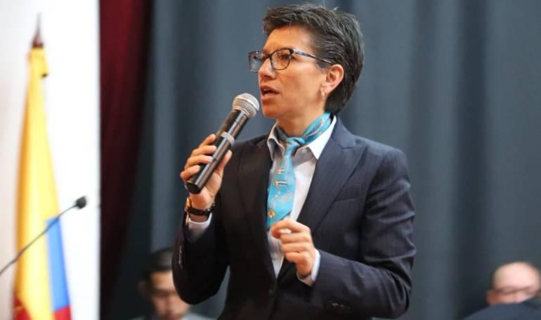 """Elecciones presidenciales 2018: """"Mi récord en asistencia es impecable"""": Claudia López"""
