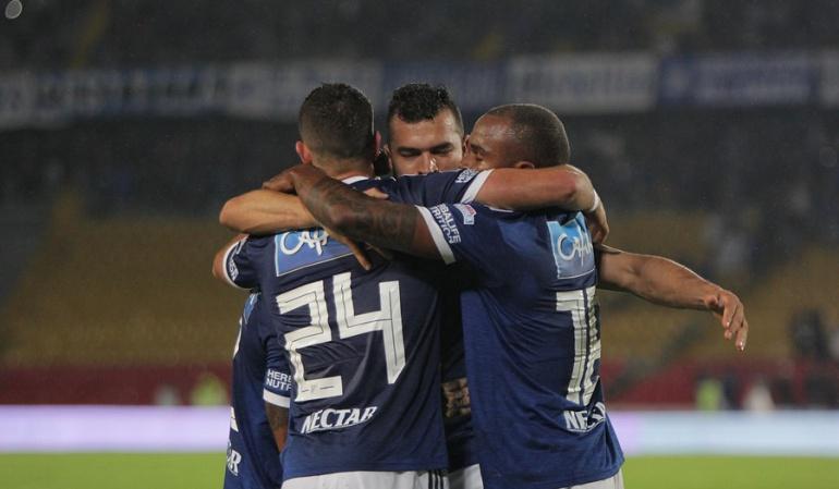 Millonarios venció a Deportivo Pasto y se metió entre los ocho mejores