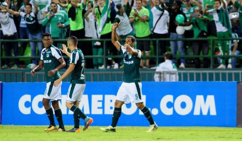 Cali 3-0 Danubio Copa Sudamericana: Cali inició con goleada su participación en la Copa Sudamericana
