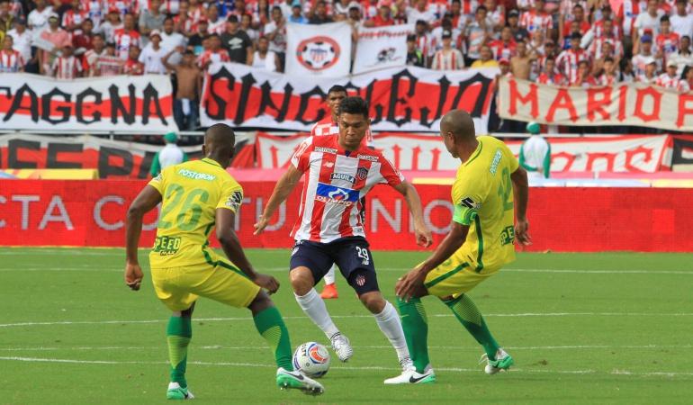 ¿Doble sanción en contra del defensor de Atlético Nacional Diego Braghieri?