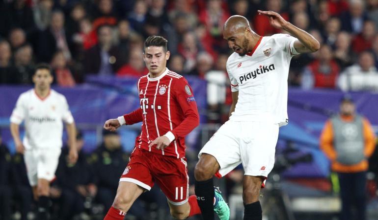 Bayern Múnich Sevilla on line: Bayern elimina al Sevilla y James es el único colombiano en semifinales