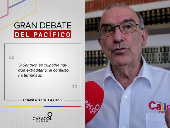 Elecciones Colombia: Las frases del Gran Debate Pacífico