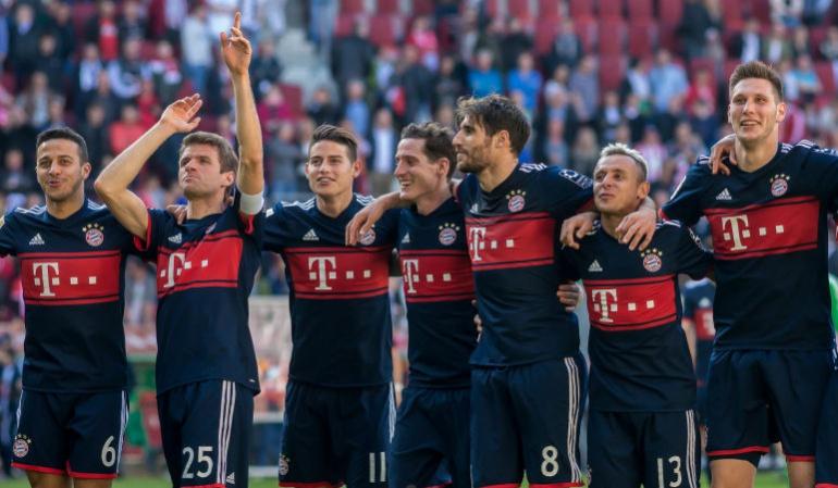 Bayern Múnich James: El Bayern de James jugará ante Mönchengladbach con la Bundesliga decidida